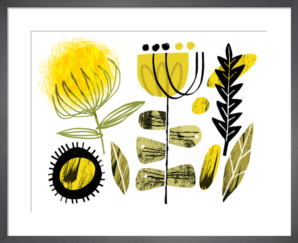 Yellow Flowers by Gillian Martin