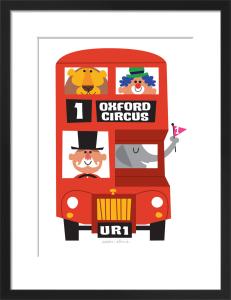Circus Bus by Sean Sims