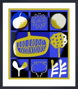 Blue Garden by Gillian Martin