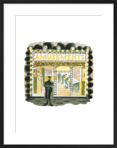 Amusements by Eric Ravilious