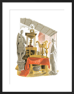 Second-hand Furniture and Effects by Eric Ravilious