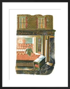 Baker and Confectioner by Eric Ravilious