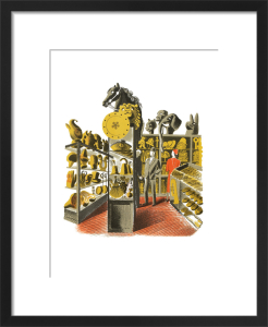 Theatrical Properties by Eric Ravilious