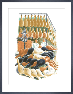 Hams by Eric Ravilious