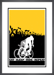 Eat Sleep Ride Repeat by Sassan Filsoof