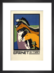 Barnet by tram, 1922 by Charles Paine