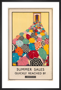 Summer sales quickly reached, 1925 by Mary Koop