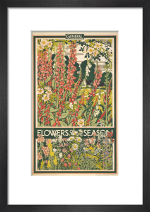 Flowers of the season, 1933 by Walter E Spradbery
