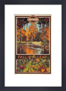 Fall of the leaf, 1933 by Walter E Spradbery