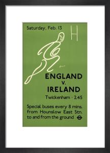 England v. Ireland, 1937 by H Goodenough