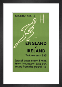 England v. Ireland, 1937 by H Goodenough