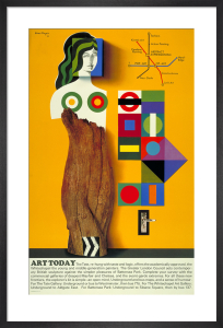 Art today, 1966 by Hans Unger