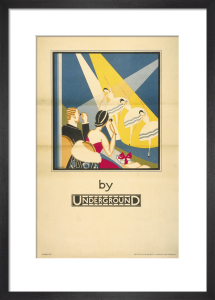 Theatre by Underground, 1933 by Stanislaus S Longley