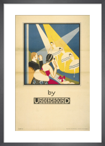 Theatre by Underground, 1933 by Stanislaus Soutten Longley