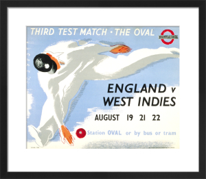 The Oval - England v. West Indies, 1939 by Clifford Ellis & Rosemary Ellis