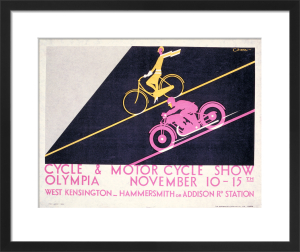 Cycle and Motor Cycle Show, 1930 by Charles Burton