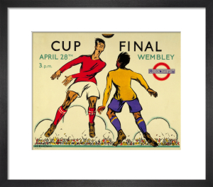 Cup Final, 1934 by Anna Katrina Zinkeisen