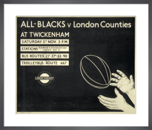 All-Blacks v London Counties, 1935 by Unknown artist