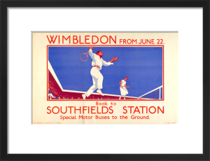 Wimbledon from June 22, 1925 by L B Black