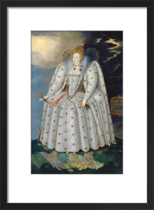 Queen Elizabeth I (The Ditchley Portrait) by Marcus Gheeraerts the Younger