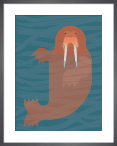 Walrus by Alan Dalby