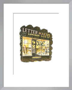 Letter Maker by Eric Ravilious