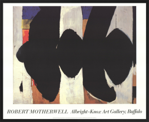 Elegy to the Spanish Republic #34 by Robert Motherwell