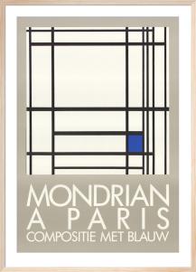 A Paris by Piet Mondrian