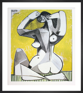Nu Accroupi by Pablo Picasso