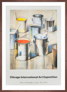 Chicago International Art Exposition by Wayne Thiebaud