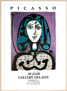 La Femme a La Resille by Pablo Picasso