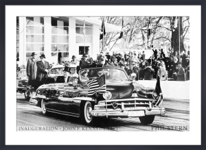 Inauguration- John F Kennedy (1961) by Phil Stern