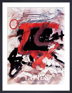 Maeght Zurich (1983) by Antoni Tapies