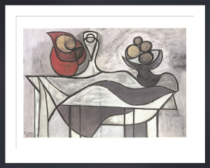 Pitcher and Bowl of Fruit by Pablo Picasso