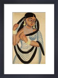 A Bengali courtesan, c.1890 by Unknown artist