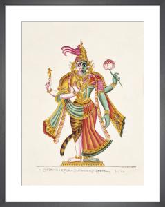 Ardhanari, c.1825 by Unknown artist