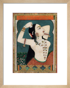 A bejewelled lady, c.1800 by Unknown artist