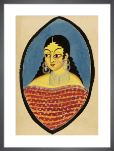A Bengali courtesan, c.1880 by Unknown artist