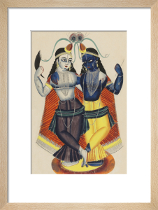 Krishna and Balarama, c.1855 by Unknown artist