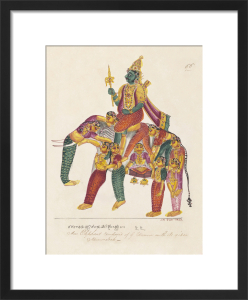 Manmatha or Kama, the god of love, c.1820 by Unknown artist