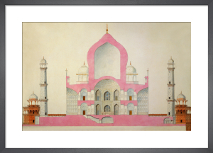 Taj Mahal, c.1816-22 by Unknown artist