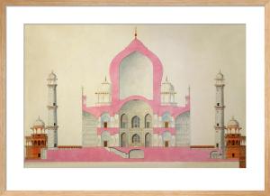 Taj Mahal, c.1816-22 by Unknown artist