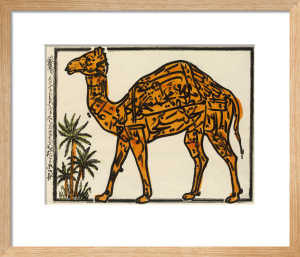 Camel, late 19th century by Unknown artist