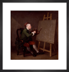 William Hogarth by William Hogarth