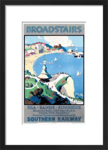 Broadstairs; Sea, Sands, Sunshine by John Mace