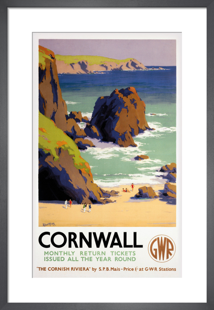 22d34892452 Cornwall Art Print by H Alker Tripp | King & McGaw