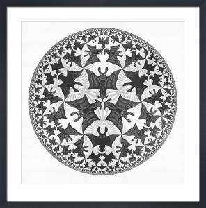 Circle Limit IV by M.C. Escher