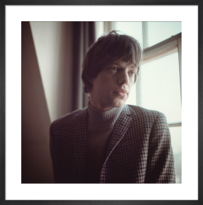 Mick Jagger, 1969 by David Wedgbury