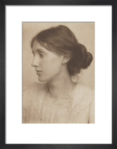 Virginia Woolf, July 1902 by George Charles Beresford