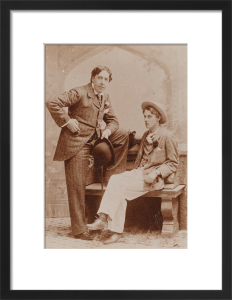 Oscar Wilde and Lord Alfred Douglas, May 1893 by Gillman & Co
